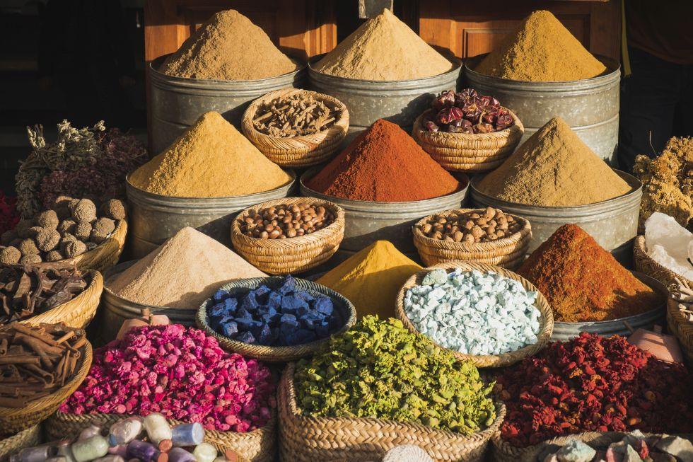 bazar w Maroko