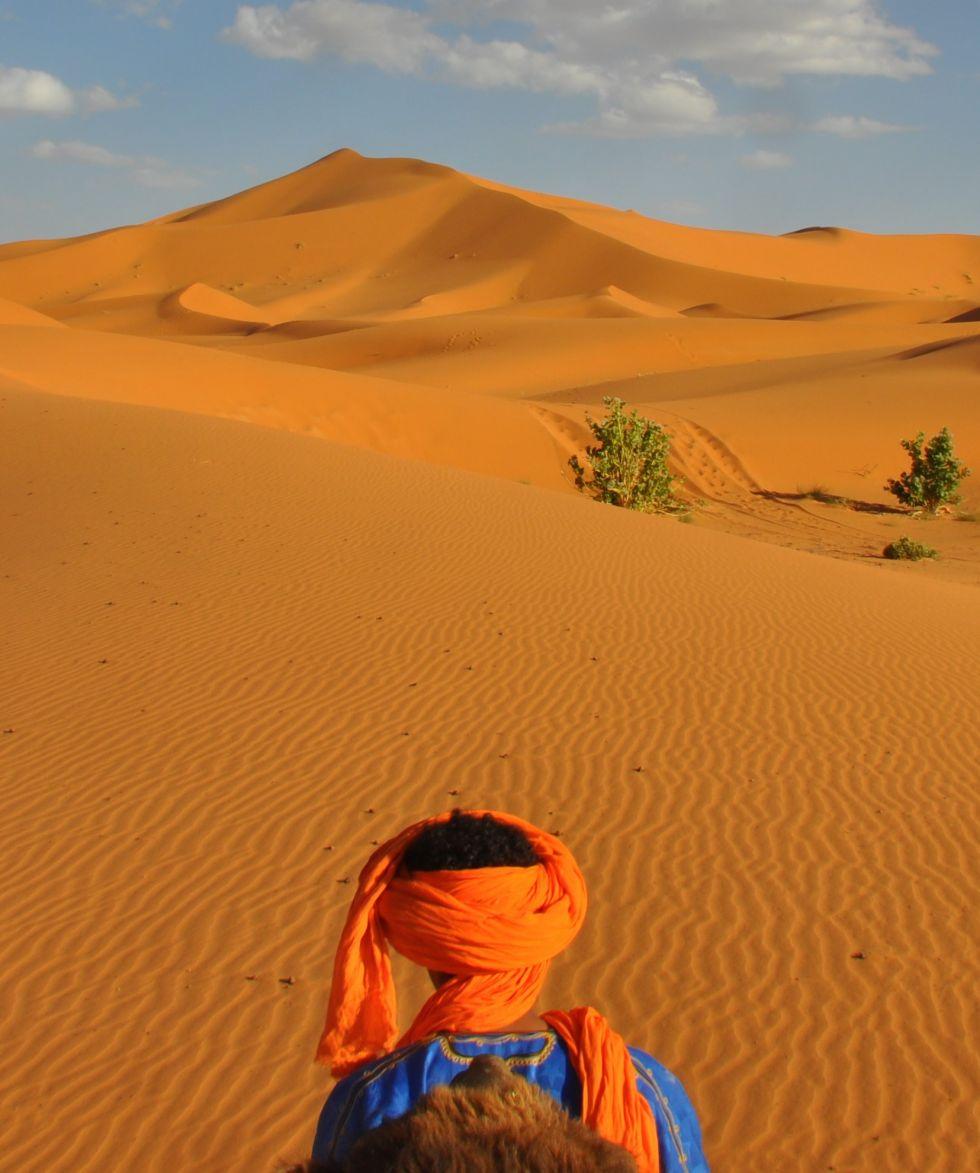 pustynia w Maroko