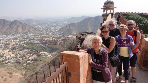 Wycieczka do Indii Południowych, zespół świątyń