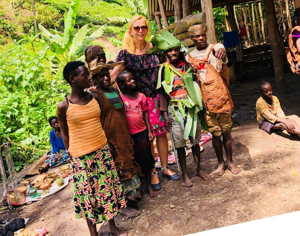 pierwotni mieszkancy Ugandy - narod Batwa