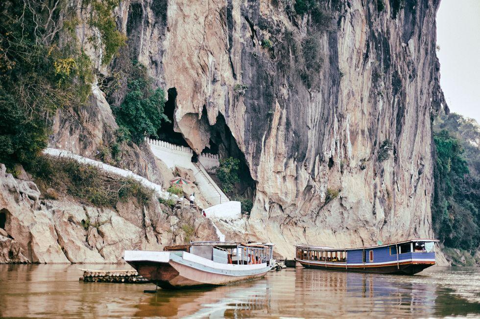 Wietnam Pak Ou Cave