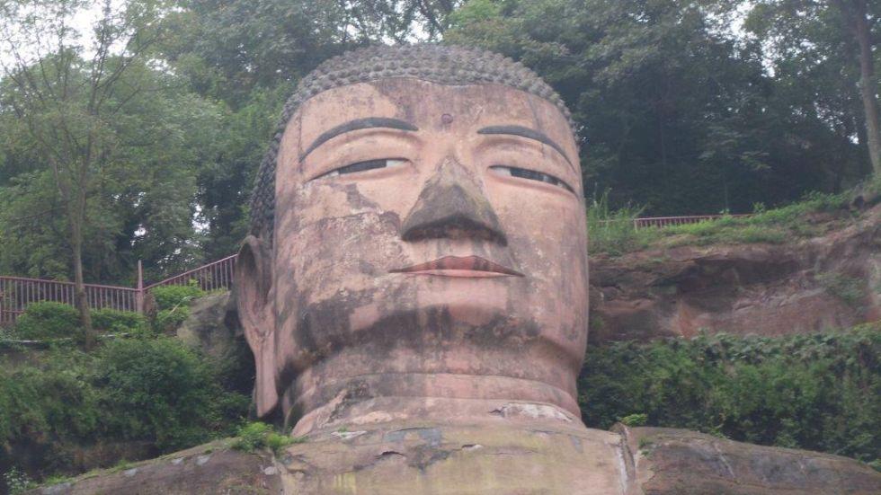 Wielki Budda w Leshan.