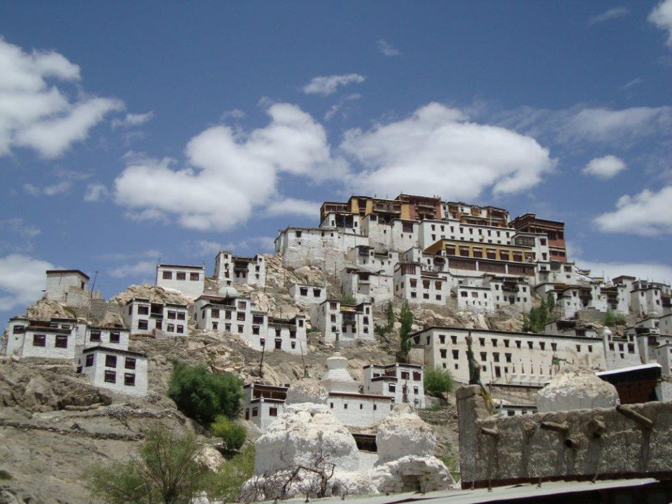 Klasztor Thiksy. Podróż po Kaszmirze i Ladakhu.