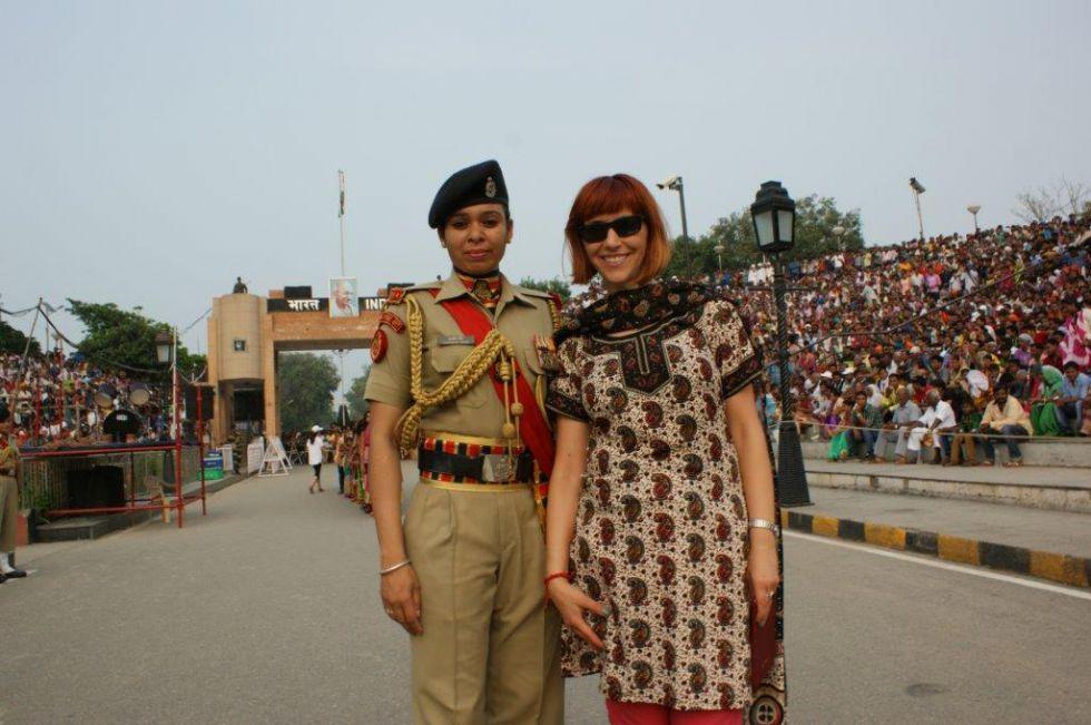Granica z Pakistanem.