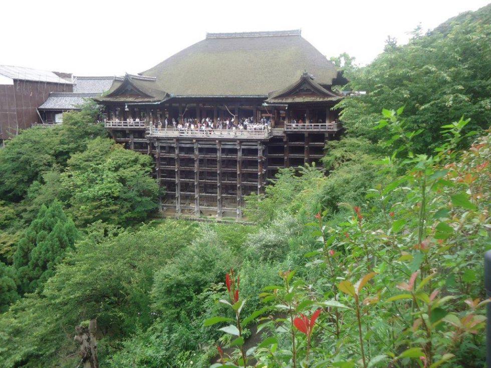 Zwiedzanie Kioto. Świątynia Kiyomizudera.