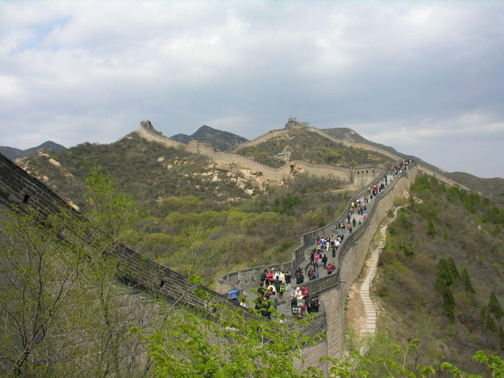 Wielki Mur Chiński, niesamowity spacer.