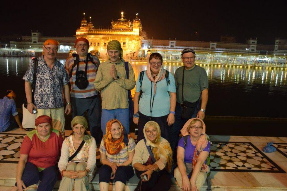 Wyprawa do Kaszmiru i Ladkahu. Złota Świątynia w Srinagar.