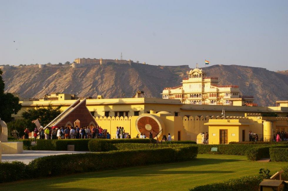 Zwiedzanie Jantar Mantar.