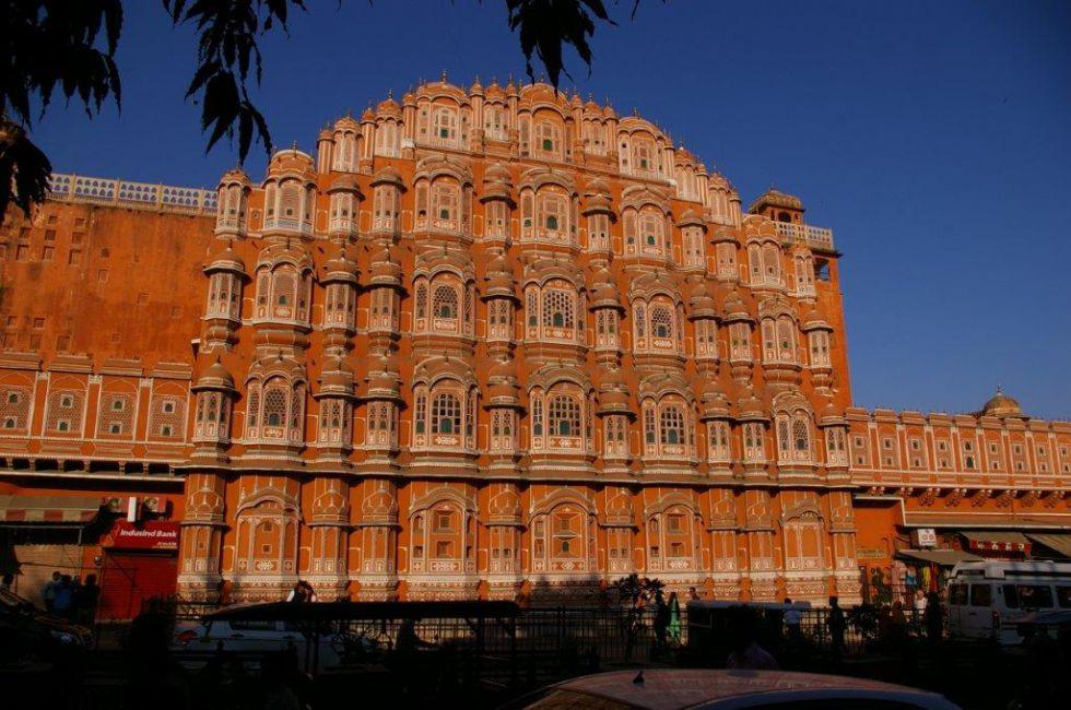 Hawa Mahal, wycieczka do Indii i Nepalu.