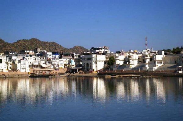 Święte miasto Puszkar. Zwiedzanie Indii i Nepalu.