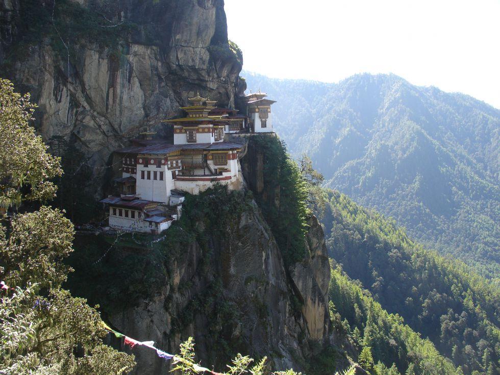 Klasztor Tygrysi wycieczka Bhutan Himalaje