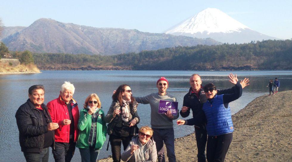 Podróż po Japonii, wjazd na piątą stację Fuji.