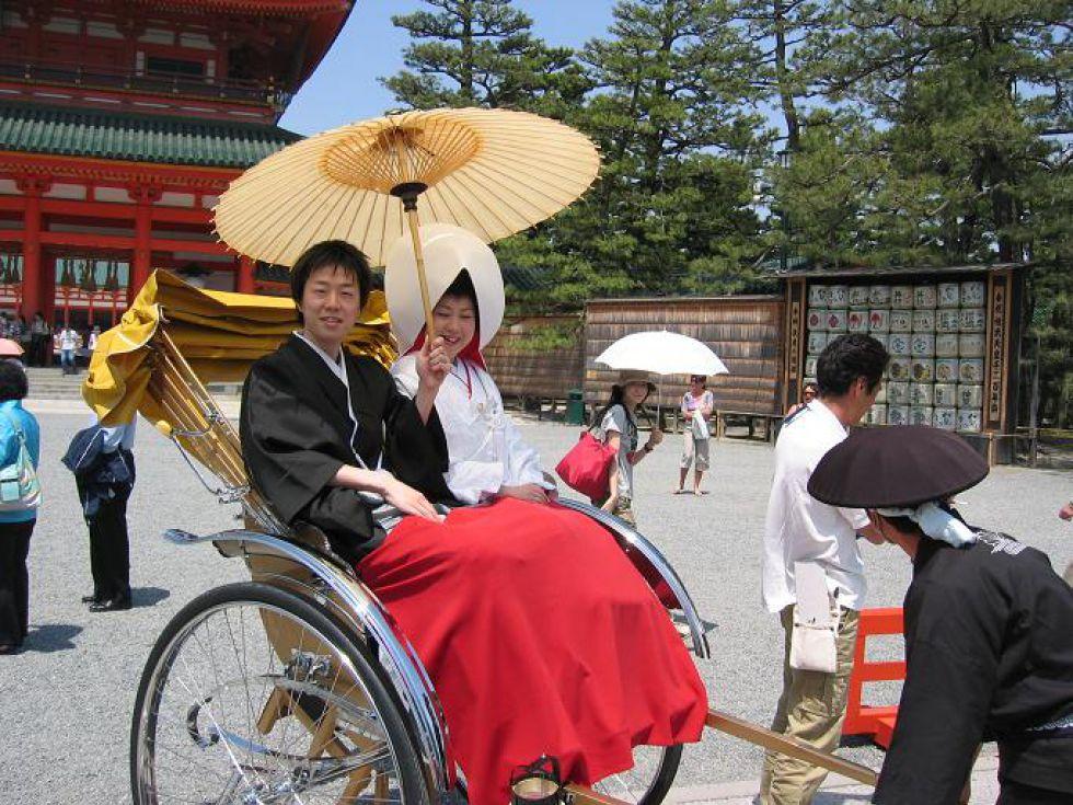 Riksza - Wyprawa do Japonii i zwiedzanie