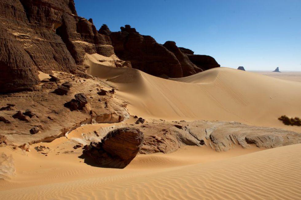 Formacje skalne - Czad, Sahara