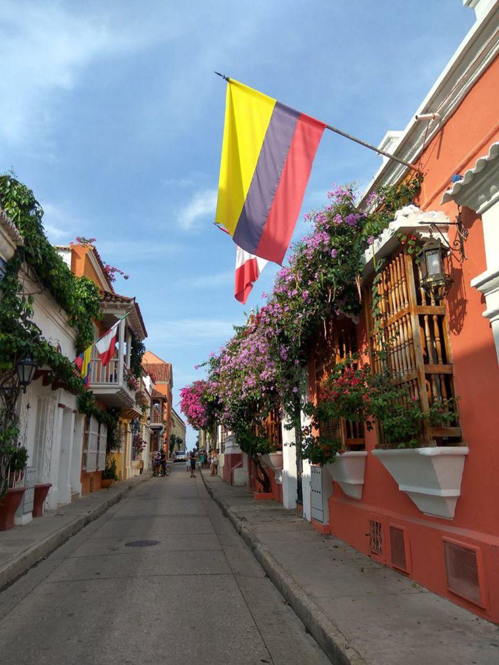Kolumbia podróż