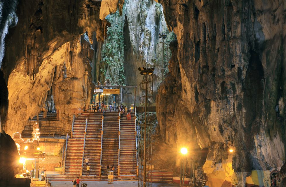 Jaskinie Batu (Batu Caves) - Malezja