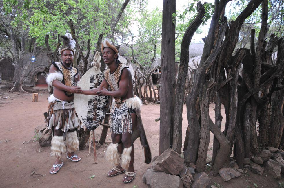 RPA wioska kulturowa Lesedi, koło Johannesburga.