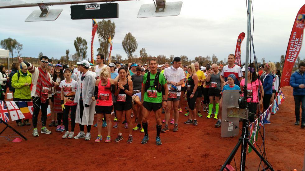 Pustynny maraton w centralnej części Australii wokół Uluru.