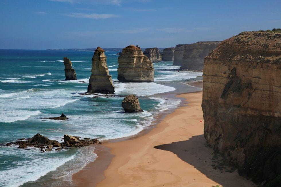 dwunastu apostolow, great ocean road, melbourne, australia