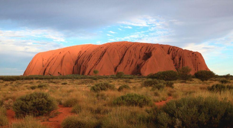 Swieta gora Aborygenow Uluru, Ayers Rock, Australia