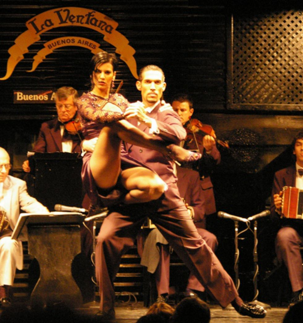 Tango show w Buenos Aires.