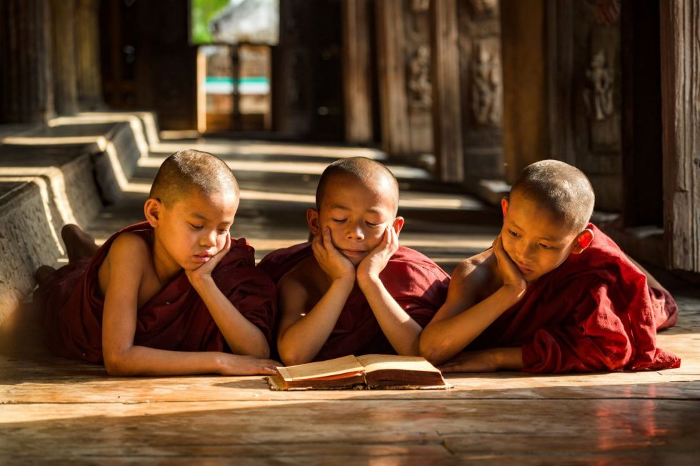 Birma. Podgladanie zycia codziennego mieszkancow.