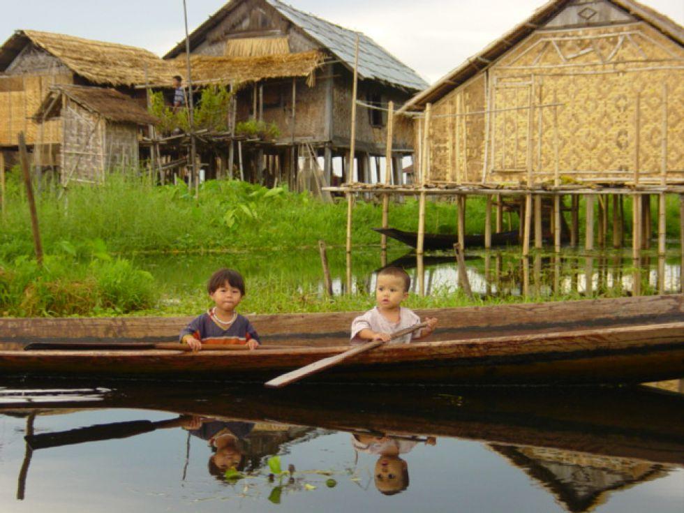 Jezioro Inle - Wicieczka Birma - Laos