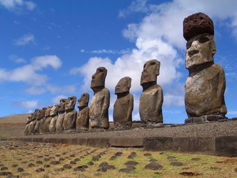 Wyspa Wielkanocna - moai