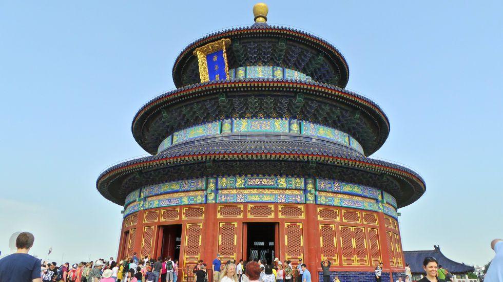 Świątynia Nieba - Wycieczka do Chin
