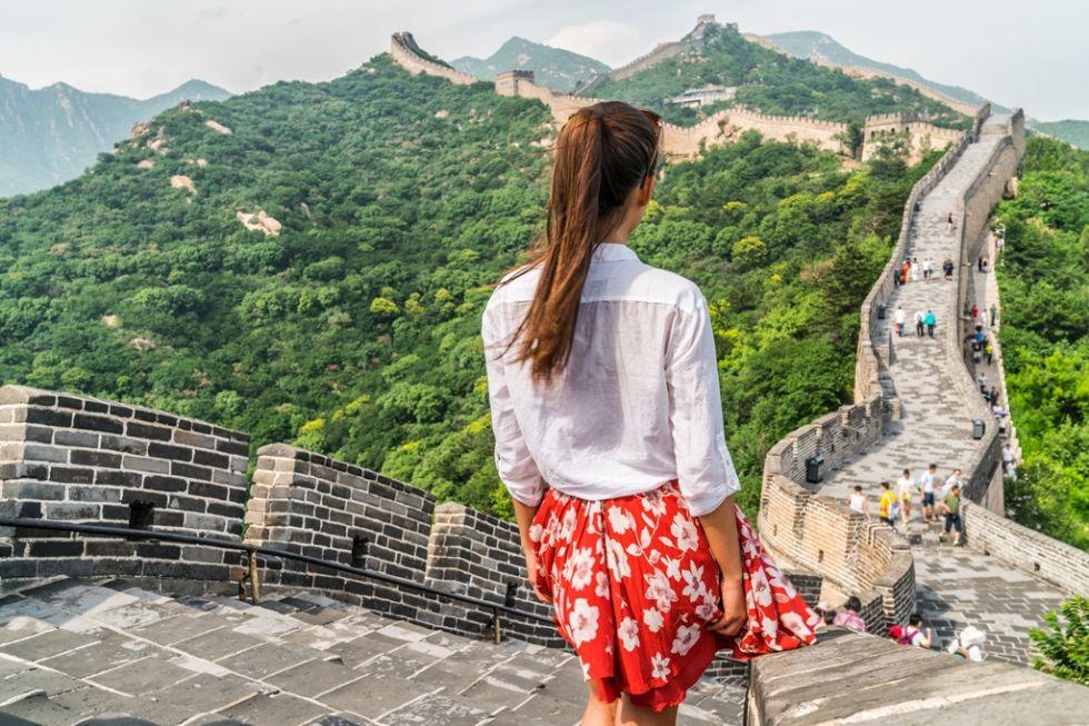 wielki slynny mur chinski