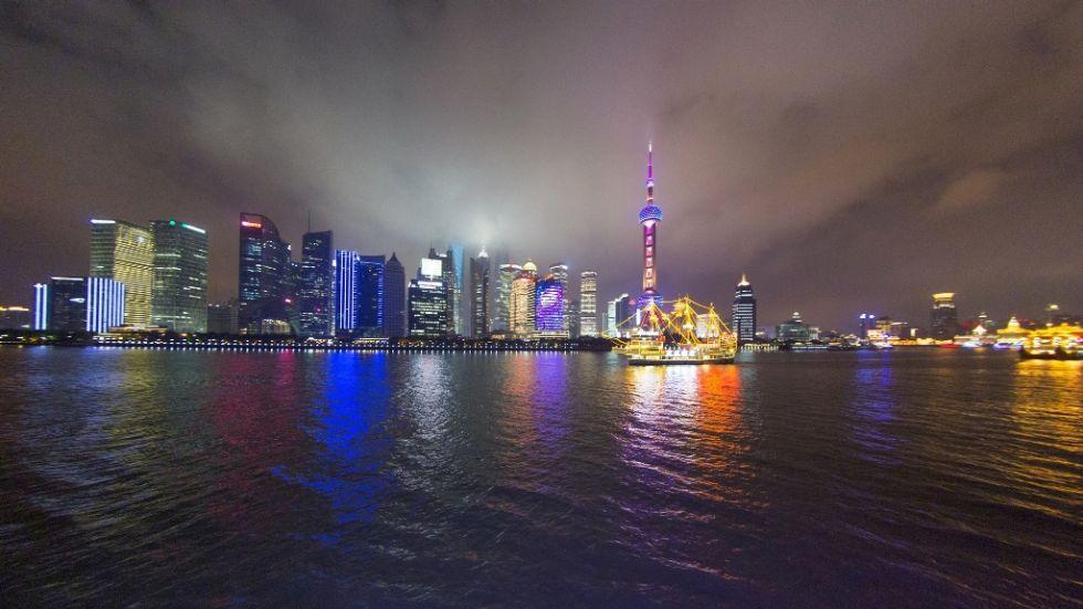 panorama na szanghaj