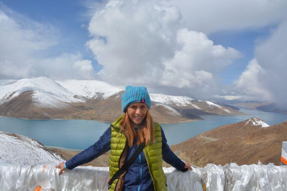 jezioro yamdrok w tybecie