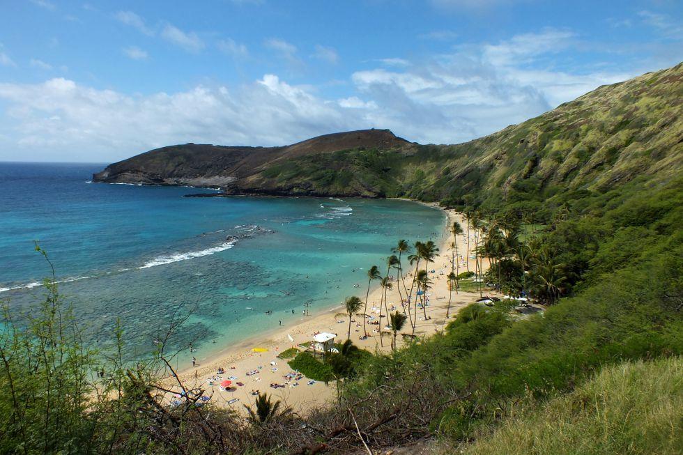 Wycieczka dookoła świata, rajskie Hawaje.