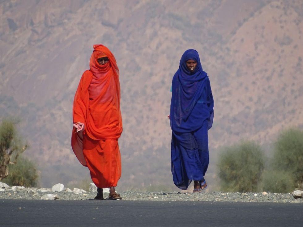 Erytrea - transport towarów i ludzi.