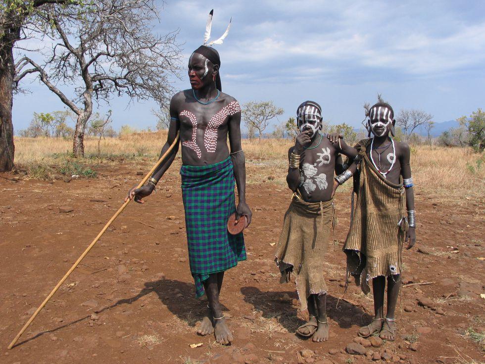 wycieczka do Etiopii, Etiopia, Mursi, dolina Omo