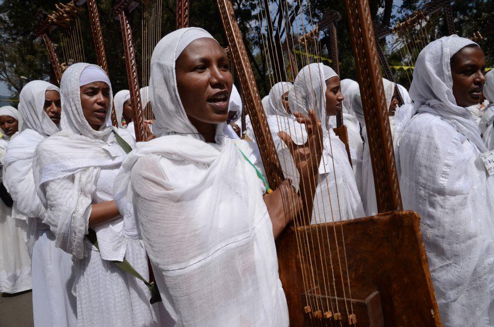 Wyprawa w świąteczny czas TIMKATU i etiopskiego BOŻEGO NARODZENIA