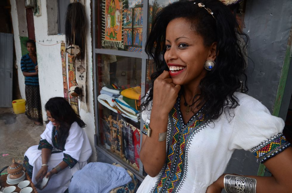 Etiopia to kraj pięknych i uśmiechniętych ludz