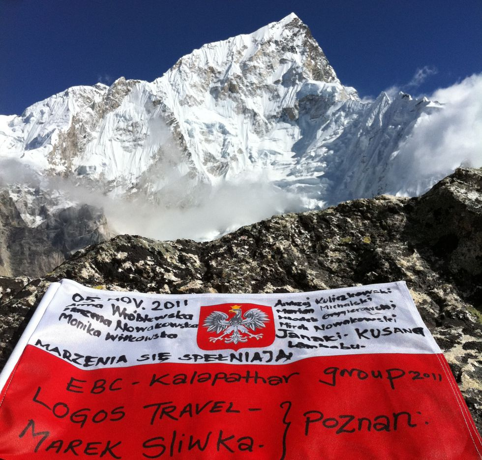 Everest Base Camp trekking w Nepalu.