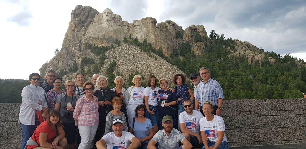 Mount Rushmore w USA