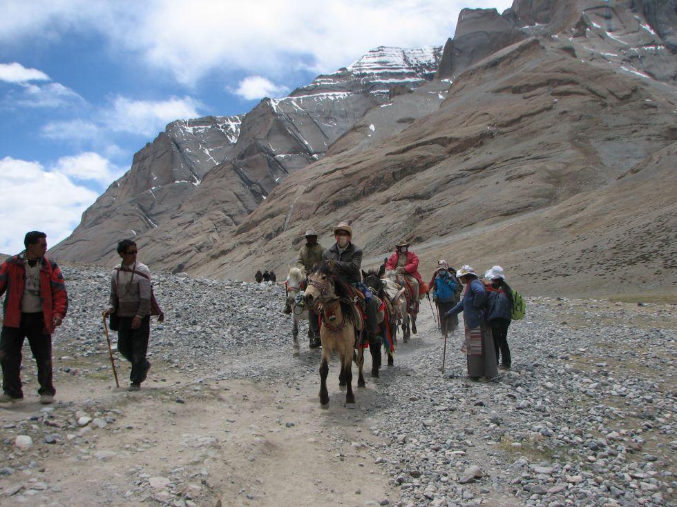 Wyprawa do Tybetu, wokół świętej góry Kailash.