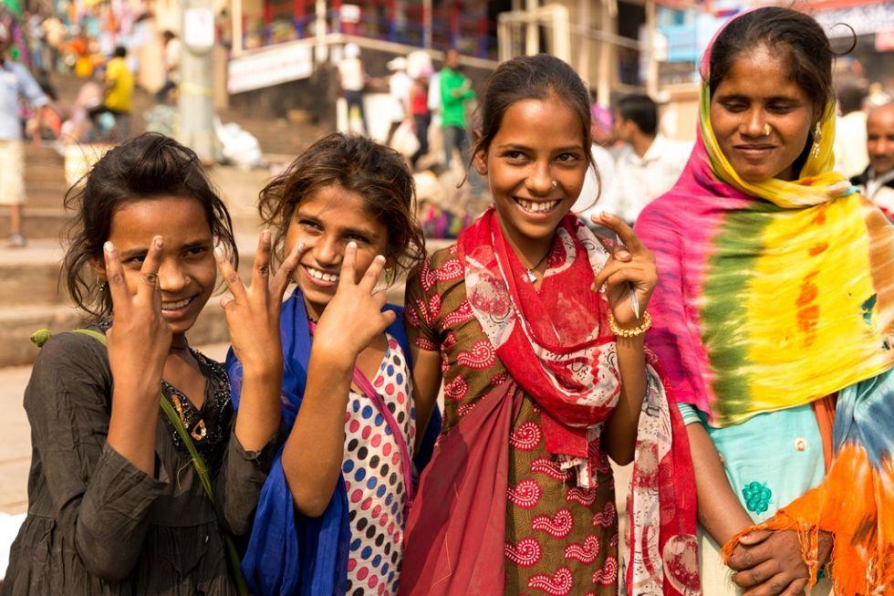 dziewczynki w indiach