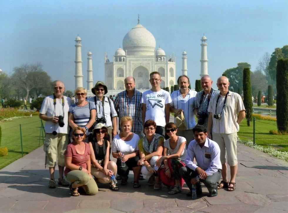 Tadz Mahal. Wycieczka do Indii