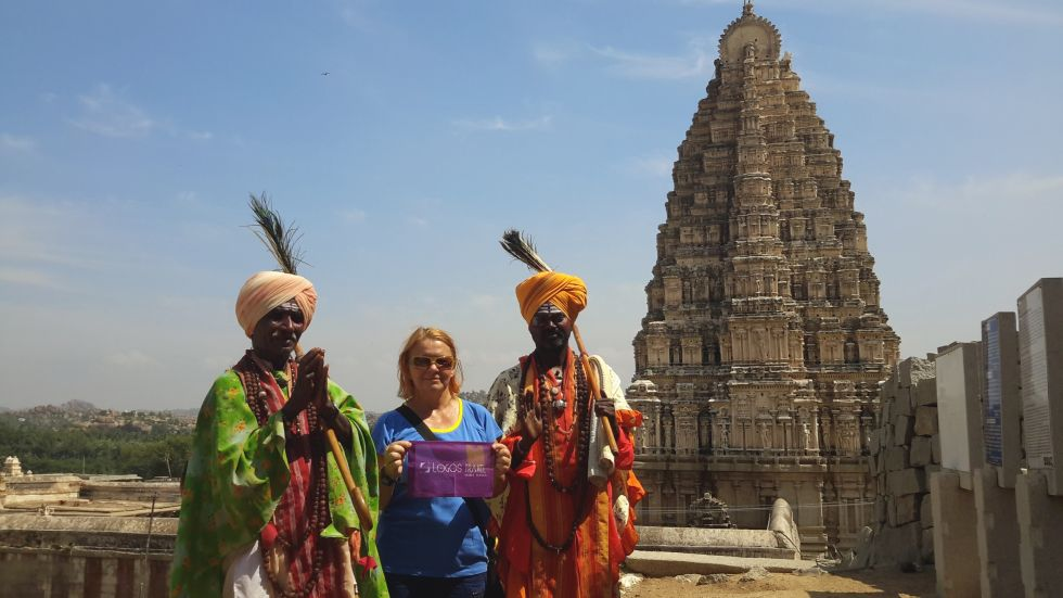 zwiedzanie hampi w indiach
