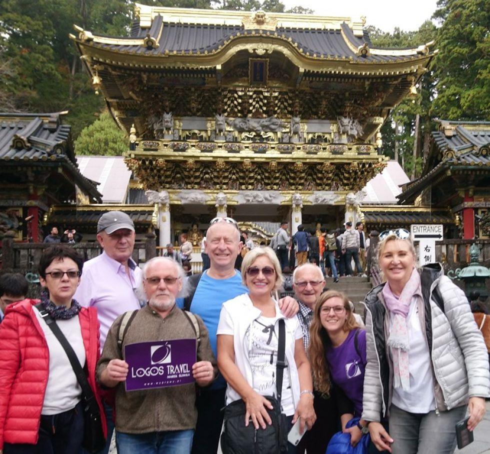 Grupa Logos Travel na trasie Korea Południowa-Japonia.