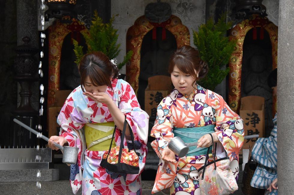 Japonki napotkane na trasie Japonia poza utartym szlakiem.