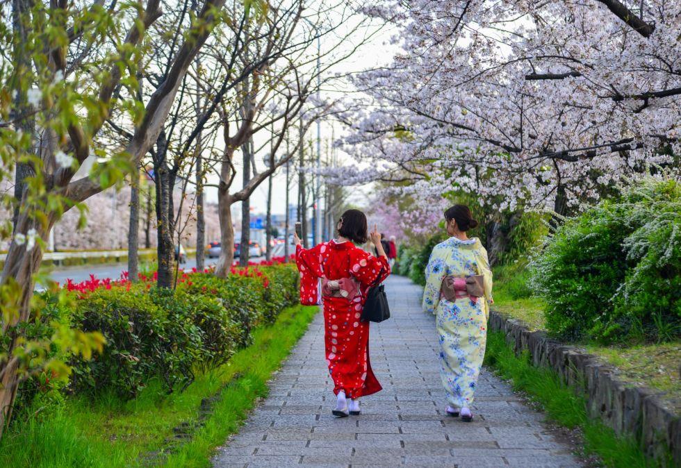 japonki napotkane podczas trasy japonia spa