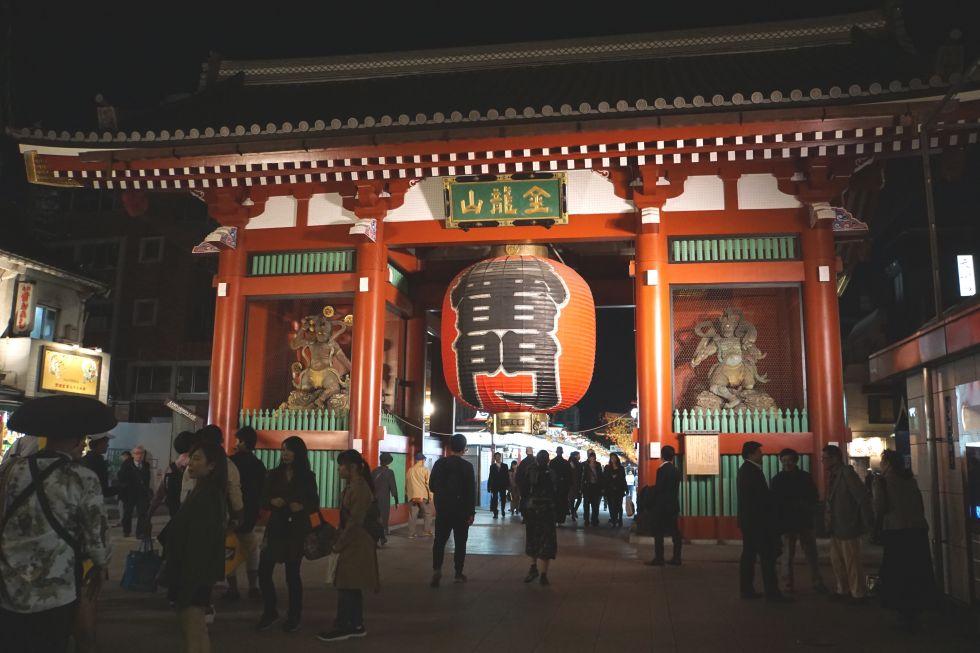 dzielnica asakusa w tokio w japonii