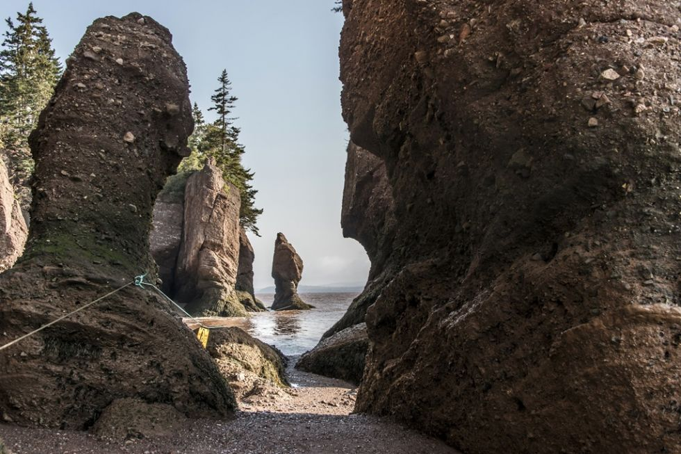 hopewell rocks w kanadzie