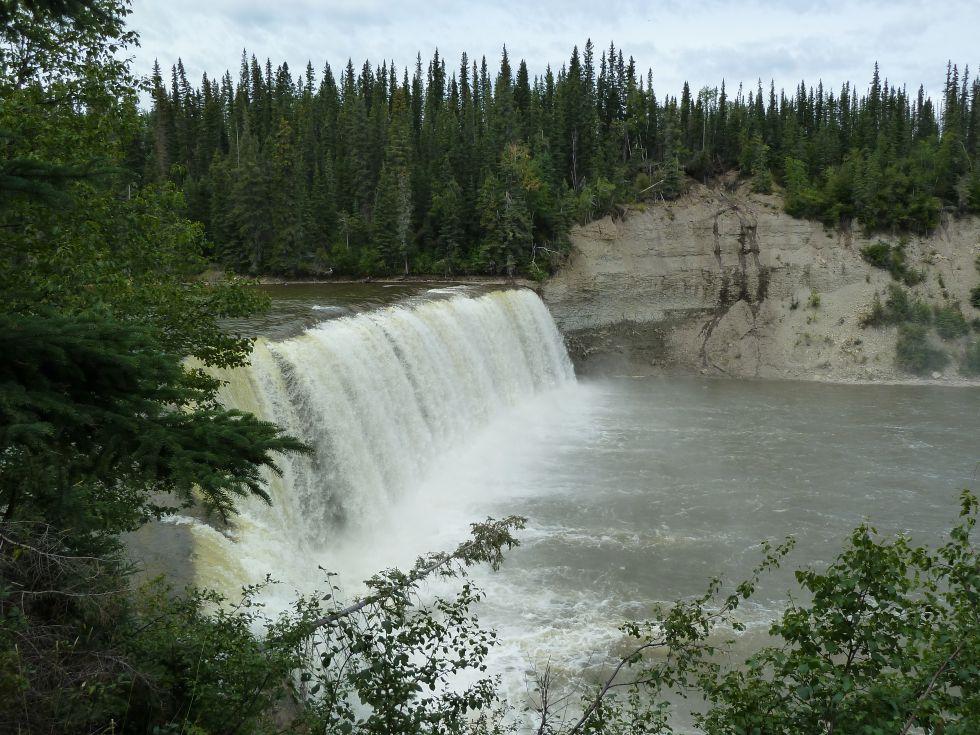 Wodospad Evelyn - wycieczka do Kanady