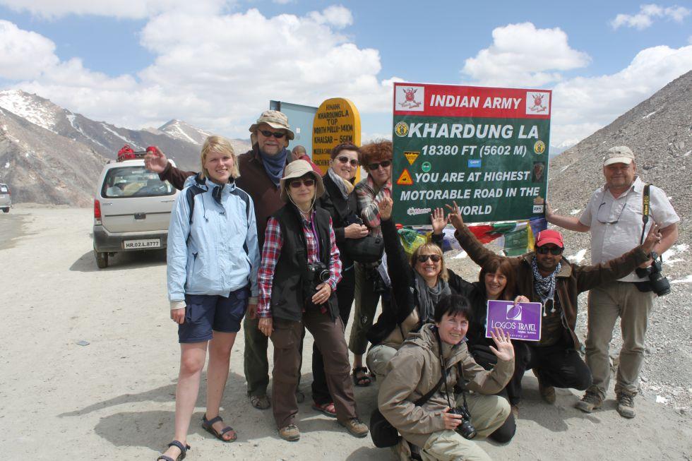 przełęcz Khardung LA - Wycieczka Kaszmir i Ladakh